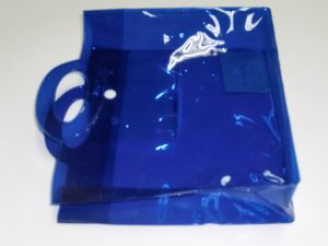 Good Quality Reusable Transparent PVC Shopping Bag pictures & photos