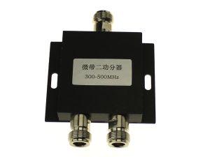 2 Way N-Type Power Divider Splitter Mixer 300~500MHz for Walkie Talkie Intercom Relay Station (17F07)