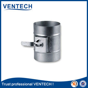 Round Volume Control Damper for Ventilation Use pictures & photos