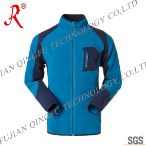 Custom Outdoor Polar Fleece Jacket with Top Quality (QF-497)