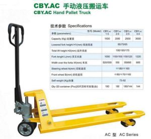 Hand Pallet Truck with CE Certification pictures & photos