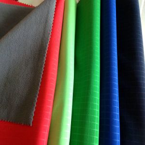 TPU + Fleece Bonded Polyester Fabric for Climbing (XY-SP2014009B) pictures & photos