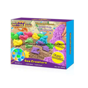 3D Sand Box- Sea Creature Sand Motion Sand Play Sand DIY Kids Toy Educational Toys