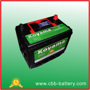 Maintenance Free 12V60ah Car Battery pictures & photos