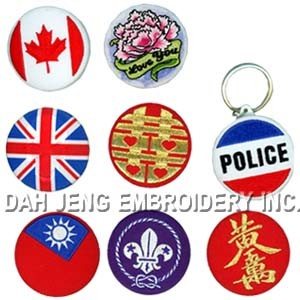 Embroidered Patches and Tinplates pictures & photos