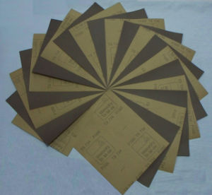 """Three Star-Ts734"" Waterproof Abrasive Paper pictures & photos"