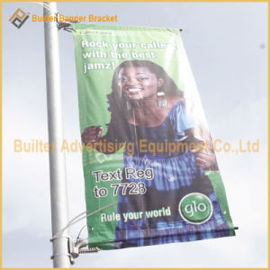 Outdoor Advertising Street Light Pole Flag Poster (BT-SB-011) pictures & photos