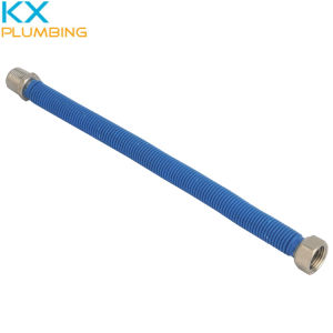 Stainless Steel Flexible PVC Shrink Covered Gas Hose (KX-CH002) pictures & photos