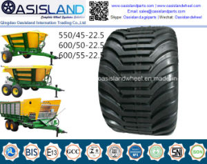 Farm Agricultural Tyre 550/45-22.5 600/50-22.5 for Farm Trailer pictures & photos