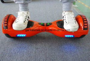 M011 Orange 6.5 Inch 44000mAh Self Balancing Electric Scooter/Hoverboard with Bluetooth/LED/Remote