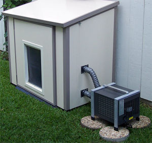china dog house air condiitoner china kennel air With portable air conditioned dog kennel
