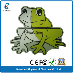 Top Selling PVC Frog 8GB USB pictures & photos