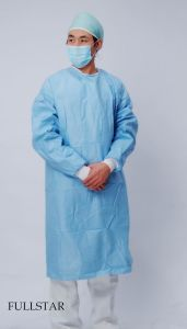 Spunlace Surgical Gown (F-306) pictures & photos