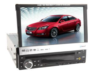 7 Inch One DIN Car DVD Player (7328)