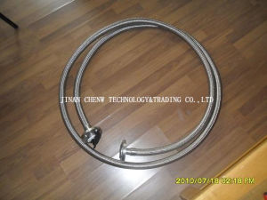 PTFE Lined Spool Pipe with Stainless Steel Net