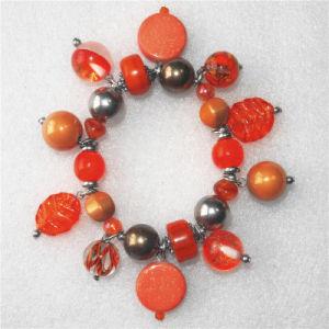Fashion Red Acrylic Bracelet