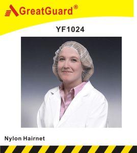 Disposable Nylon Hairnet (YF1024) pictures & photos