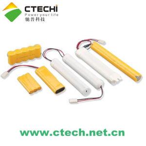 NiCd Battery Pack for Emergency Light