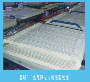 Mica Wrapping Pi Film Winding Magnet Wire for Wind Power 4.15*10.35mm Disai pictures & photos