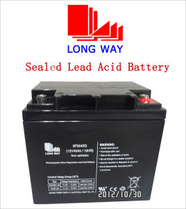 12V40ah Children Cars UPS Sealed Lead Acid Battery pictures & photos