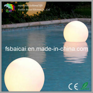 Popular Wireless Rechargeable LED Lighting /Swimming Pool LED Ball Light