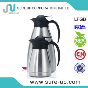 2014 Hot Sale Double Wall Stainless Steel Coffee Pot /Water Jug for Drinkware (JSUM) pictures & photos