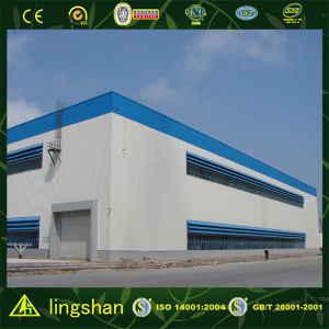 Flat Roof Steel Building pictures & photos