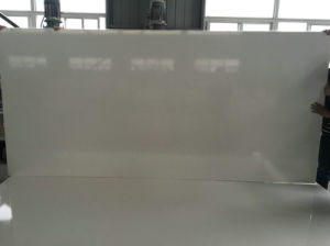 Scratch Resistant 30mm Calacatta Quartz Stone Slab