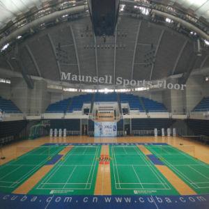 Indoor PVC/ Plastic Floor of Badminton Court Used pictures & photos