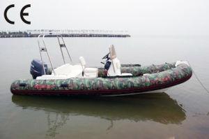 Rib580d Rescue Fiberglass Boat pictures & photos