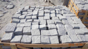 G603 Grey Granite Cube Stone for Pavement