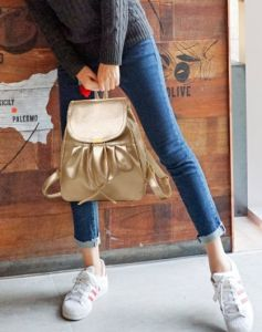 Stylish Pure Color Backpack Bags 2016fh pictures & photos
