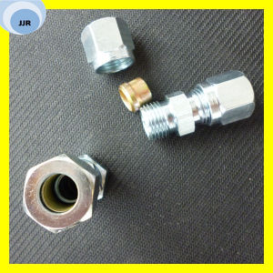 Bite Type Tube Fitting Reducer Tube Adaptor with Swivel Nut pictures & photos