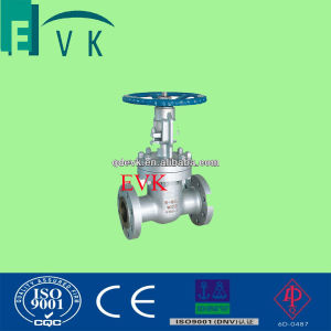 DIN Non-Rising Sten Metal Seated Gate Valve