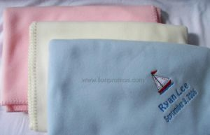 Airline and Hotel Logo Promotional Gift Fleece Blanket pictures & photos