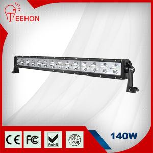 "31"" 140W 9-60V Single Row LED Car Light Bar pictures & photos"