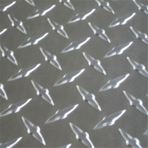 Supply Checkered Aluminium Sheet 1060 Factory in China pictures & photos