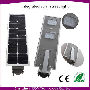 6W-80W Solar LED Street Light Motion Sensor Integrated Solar Street Light All in One pictures & photos