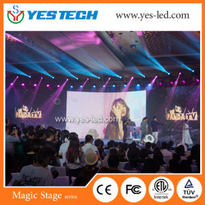 P3, P4mm Indoor Flexible LED Video Curtain Display for Stage pictures & photos