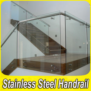 Stainless Steel Side Mounted Glass Balustrade pictures & photos