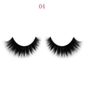 Customized Packaging Box 100% Hand Made 3D Velour Eyelash/Mink Hair Eyelash