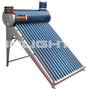 Copper Coil Pressurized Solar Water Heater (Inlight) pictures & photos