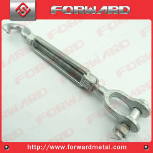 Carbon Steel Drop Forged Us Type Turnbuckle with Jaw and Hook pictures & photos