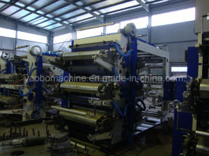 Yb-61200 High Quality Six Color Flexo Printing Press pictures & photos