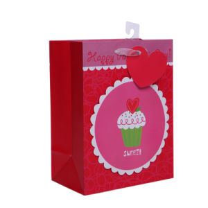 2016 New Arrival Valentine Gift Bag with Love Cake pictures & photos