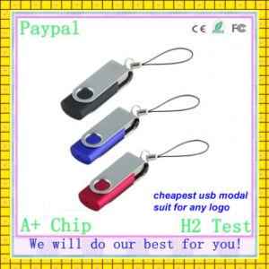 Full Capacity USB Flash Driver 256 GB Swivel Flash Drive (GC-U003) pictures & photos