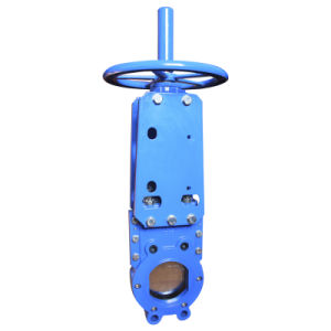 Wafer Type Knife Gate Valve with Handwheel, Rising Stem. pictures & photos