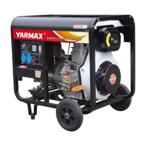 Yarmax Low Noise Open Frame Diesel Generator Genset Ym9500t pictures & photos