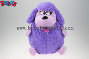 Factory Direct Sale Purple Plush Sheep Doll Toy Backpack with Big Mouth Bos1217 pictures & photos