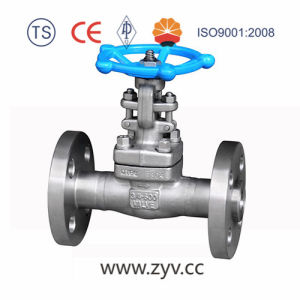 150lb 300lb 600lb 900lb 1500lb 2500lb Forged Steel A105 Flange End Gate Valve pictures & photos